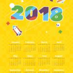 ημερολόγιο μονόφυλλο τοίχου