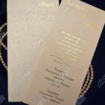 Προσκλητήριο Γάμου Κωδ. 1001